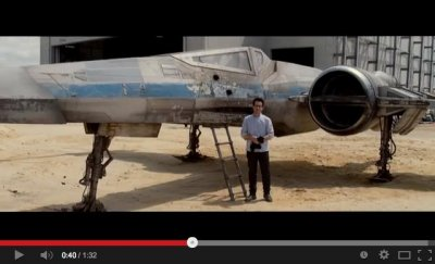'Star Wars: Episode VII': J.J. Abrams previews X-Wing Starfighter