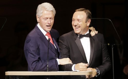 Frank Underwood wished Bill Clinton a happy birthday
