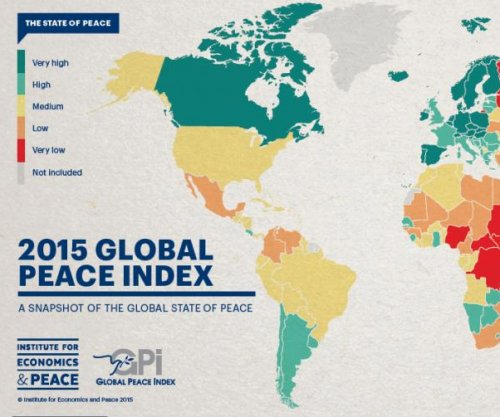 Global Peace Index report: 'World is less peaceful today than in 2008'