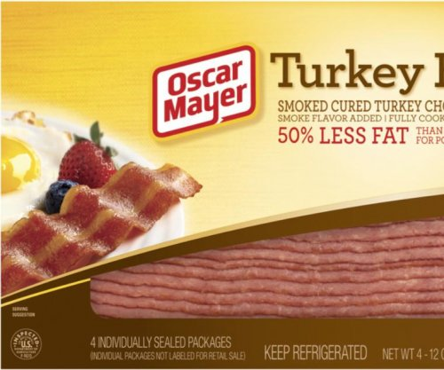 Kraft Heinz recalls 2M pounds of Oscar Mayer turkey bacon