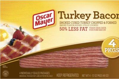 Kraft Heinz recalls 2M pounds of Oscar Mayer turkey bacon