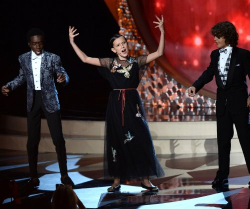 'Stranger Things' cast charms at 2016 Emmy Awards