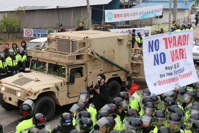 China may be turning to diplomacy to fight THAAD in South Korea