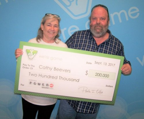 Couple drive to Virginia when lottery ticket turns out to be worth $200,000