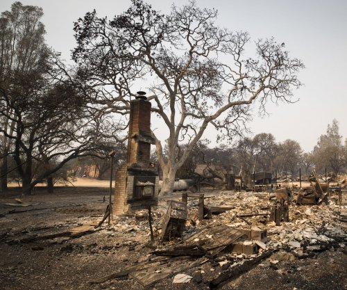 California wildfire death toll rises to 38, earthquake hits Mendocino County