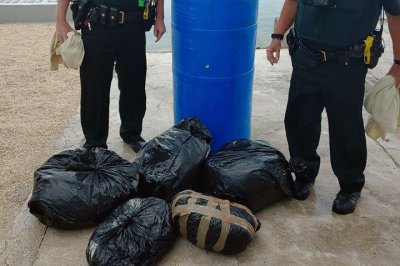 Barrel filled with 90 pounds of marijuana washes up in Florida
