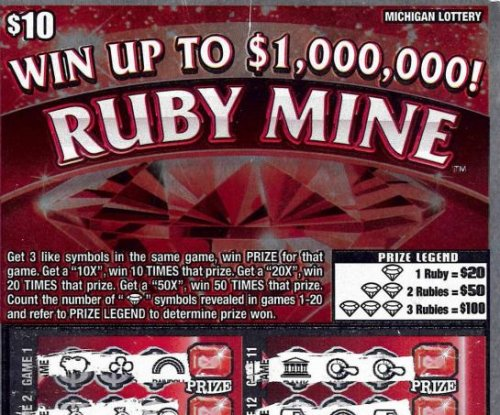 Man wins $5,000, $1M lottery prizes on the same day