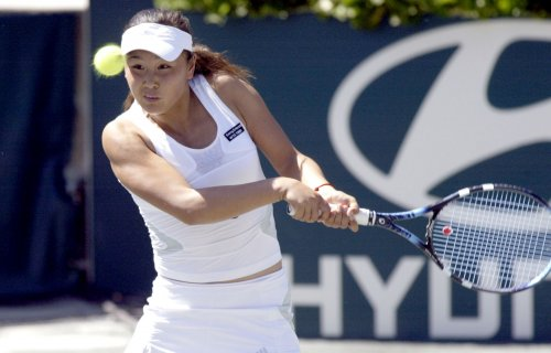 Peng leads way into Tashkent quarterfinals