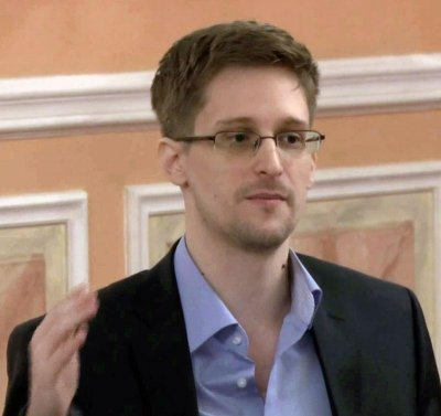 Edward Snowden says British surveillance is out of control at Observer Ideas festival