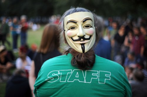 Guy Fawkes visits the White House