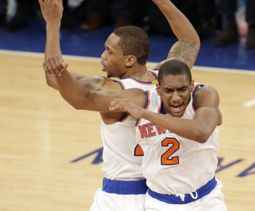 New York Knicks snap skid, outlast Detroit Pistons in 2-OT