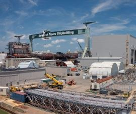 Newport News Shipbuilding breaks ground for new facility