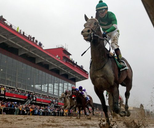 Preakness: Exaggerator upsets Nyquist in tragic day at Pimlico