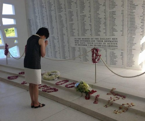 Japanese prime minister's wife visits Pearl Harbor