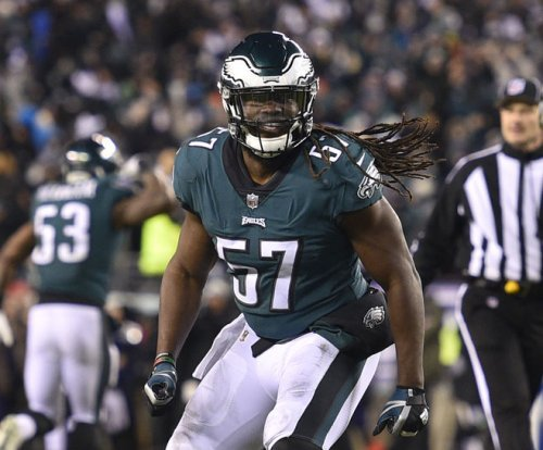 Eagles LB Ellerbe questionable for NFC title game