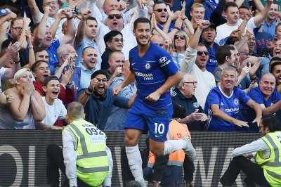 Eden Hazard leads Chelsea over Liverpool at Carabao Cup