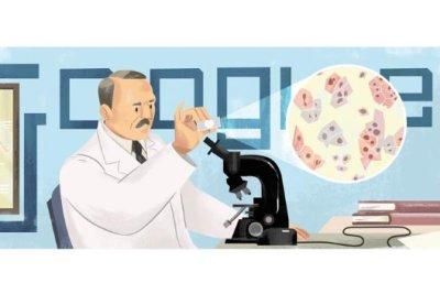 Google honors cytopathologist Georgios Papanikolaou with a new Doodle