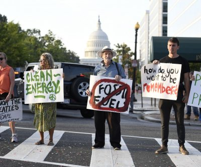 Climate protesters shut down traffic in Washington, D.C.