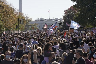 'We did it. We did it Joe!' -- U.S. crowds take to streets after Biden win