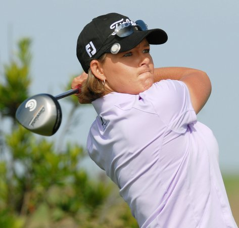 Katherine Hull moves up in golf rankings