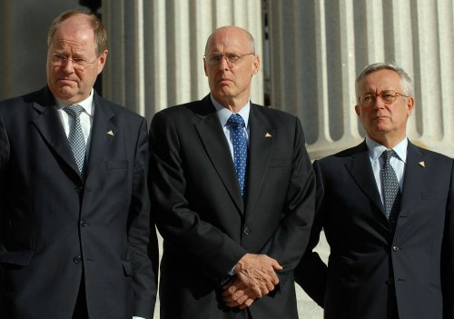 Steinbrueck: Financial crisis end distant