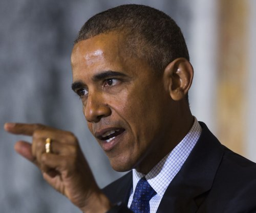 Obama slams GOP in update on fight against Islamic State
