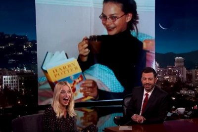 Margot Robbie reveals love of 'Harry Potter' in 'embarrassing' photo