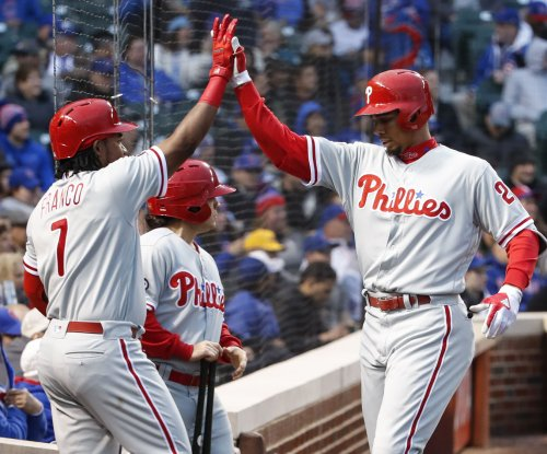 Philadelphia Phillies third baseman Maikel Franco trying to shake slump