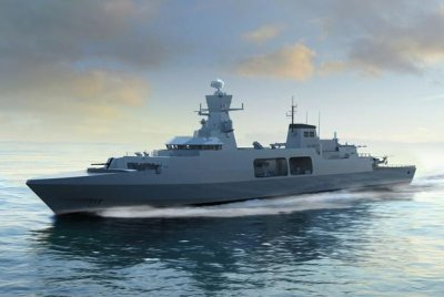 Three companies to vie for construction of the U.K. Type 31e frigate