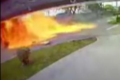 3 dead after stricken plane crashes into SUV near Miami