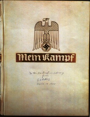 Two copies of 'Mein Kampf' sell for $64,850
