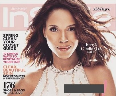 Kerry Washington, InStyle address skin lightening scandal