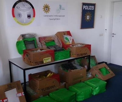 Berlin-area Aldi stores find 850 pounds of cocaine in banana boxes