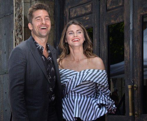 Keri Russell reunites with 'Felicity' costar Scott Speedman on 'Kimmel'