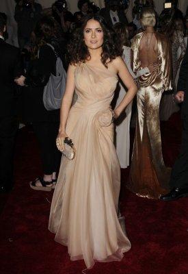 Lopez, Hayek attend Met costume gala