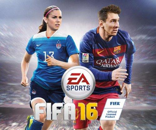 Alex Morgan to grace FIFA 16 cover