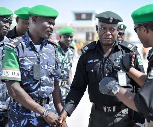 Nigerian president announces plan to recruit 10,000 additional police officers