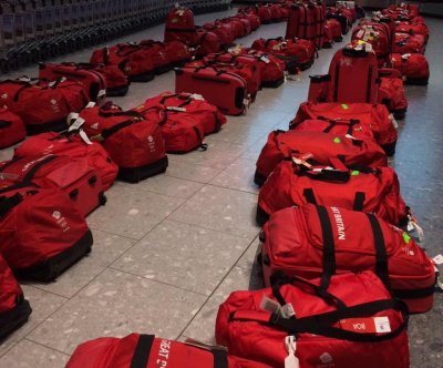 British Olympians return home to matching luggage puzzle at baggage claim