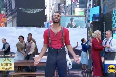 'Girl from the North Country' cast perform on 'Good Morning America'