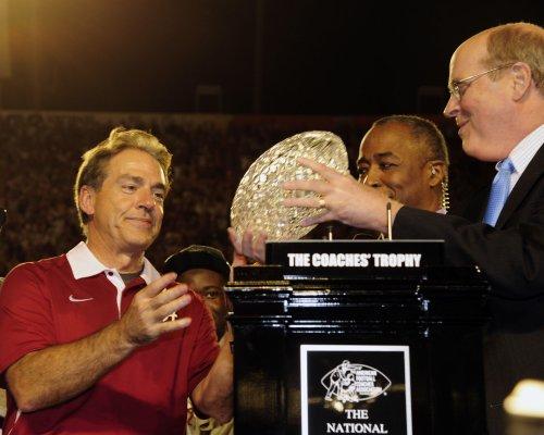 Alabama listed as pre-season No. 1 in coaches' poll
