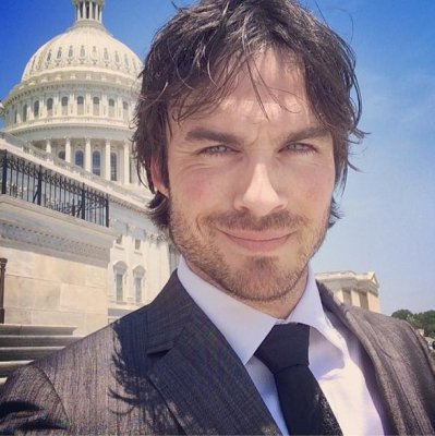 Ian Somerhalder tesfies before Congress about endangered species