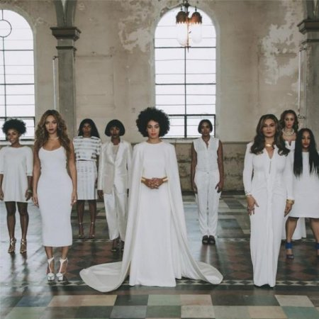 Beyonce shares photos from Solange Knowles' all-white wedding