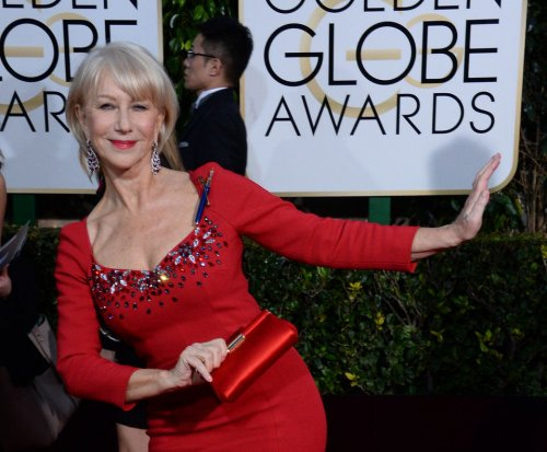 Helen Mirren laughs off slip at Berlin Film Festival