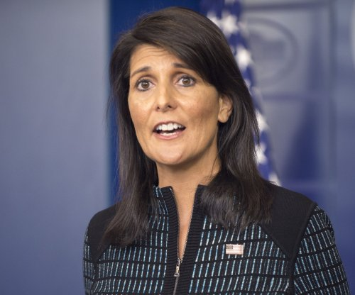 Watch live: U.N. ambassador Nikki Haley holds press briefing
