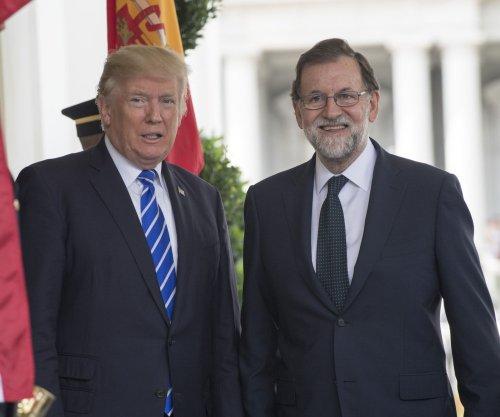 Trump, Rajoy united against North Korea actions, Catalonia referendum