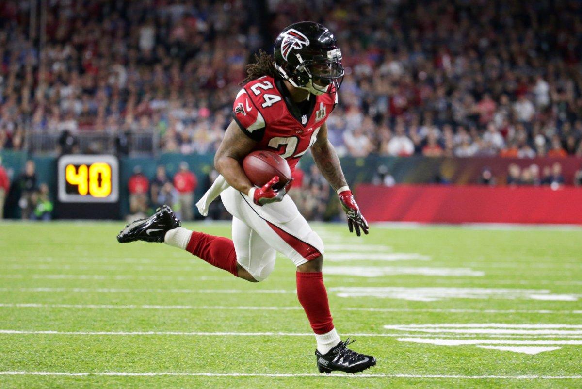 Atlanta Falcons RB Devonta Freeman Dallas Cowboys LB Sean Lee