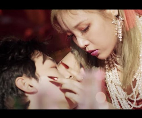 Yubin plays femme fatale in 'Perfume' music video