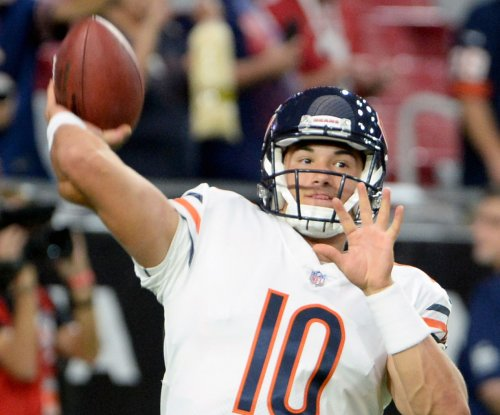 He's No. 2: Chicago Bears name Mitchell Trubisky backup quarterback