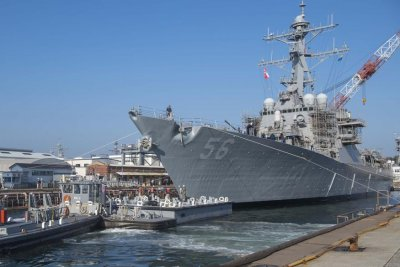 Shanahan: Request to move USS John McCain made directly to Seventh Fleet