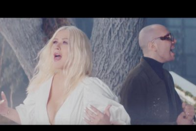 Christina Aguilera, A Great Big World share 'Fall on Me' music video